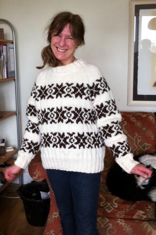 Jan wears Sarah Lund