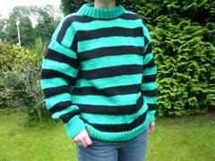 green-stripey