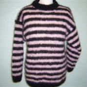 Pink mohair retro