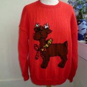 Red Xmas Reindeer