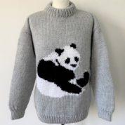 Grey Panda