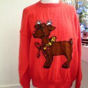 Red Xmas Reindeer 2