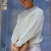 Patons Aran knitting pattern 3248