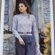 Wendy Aran knitting pattern 3633 Kintyre