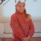 ROBIN FASCINATION CHUNKY KNITTING PATTERN LEAFLET14544 SWEATER