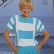 ROBIN CHIC KNITTING PATTERN LEAFLET14655 FASHION DK TOP