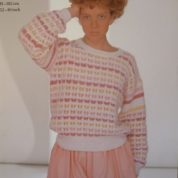 ROBIN KNITTING PATTERN LEAFLET 13749 SOFT'N'EASY BRUSHED DK SWEATER