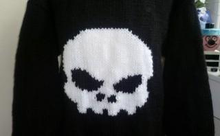 skull knit