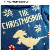 Tom Fletcher Christmasaurus