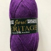 Heritage Double knitting Wool 55% Wool 1 x 100grm shade 141 Emperor