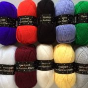 1000grms 10 x 100grm Mixed Colour Pack 1 New Fashion Chunky