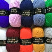 1000grms 10 x 100grm Mixed Colour Pack 4 New Fashion Chunky