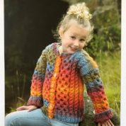 James C Brett Child's Jacket Knitting Pattern Leaflet JB280