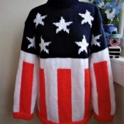 Firestarter Podigy American Flag Jumper
