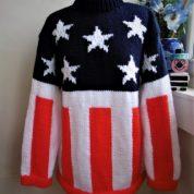 Firestarter Podigy American Flag Jumper (Duplicate)